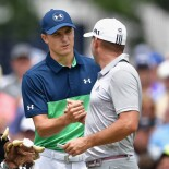 2017 PGA Championship: Round 2 - Sergio Garcia 1st green