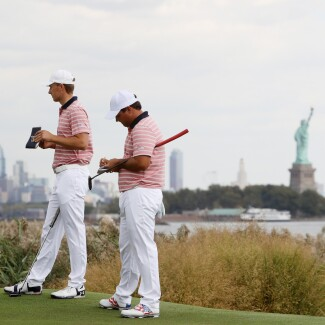 2017 Presidents Cup: Round 2 - 9th Hole