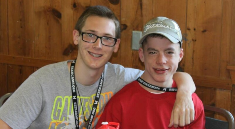 Camp SEEK: Lucas and Noah