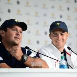 2017 Presidents Cup: Final Round - Jordan and Justin Thomas at the Final Press Conference