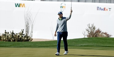 2021 Waste Management Phoenix Open: Round 3 - Birdie on No. 16