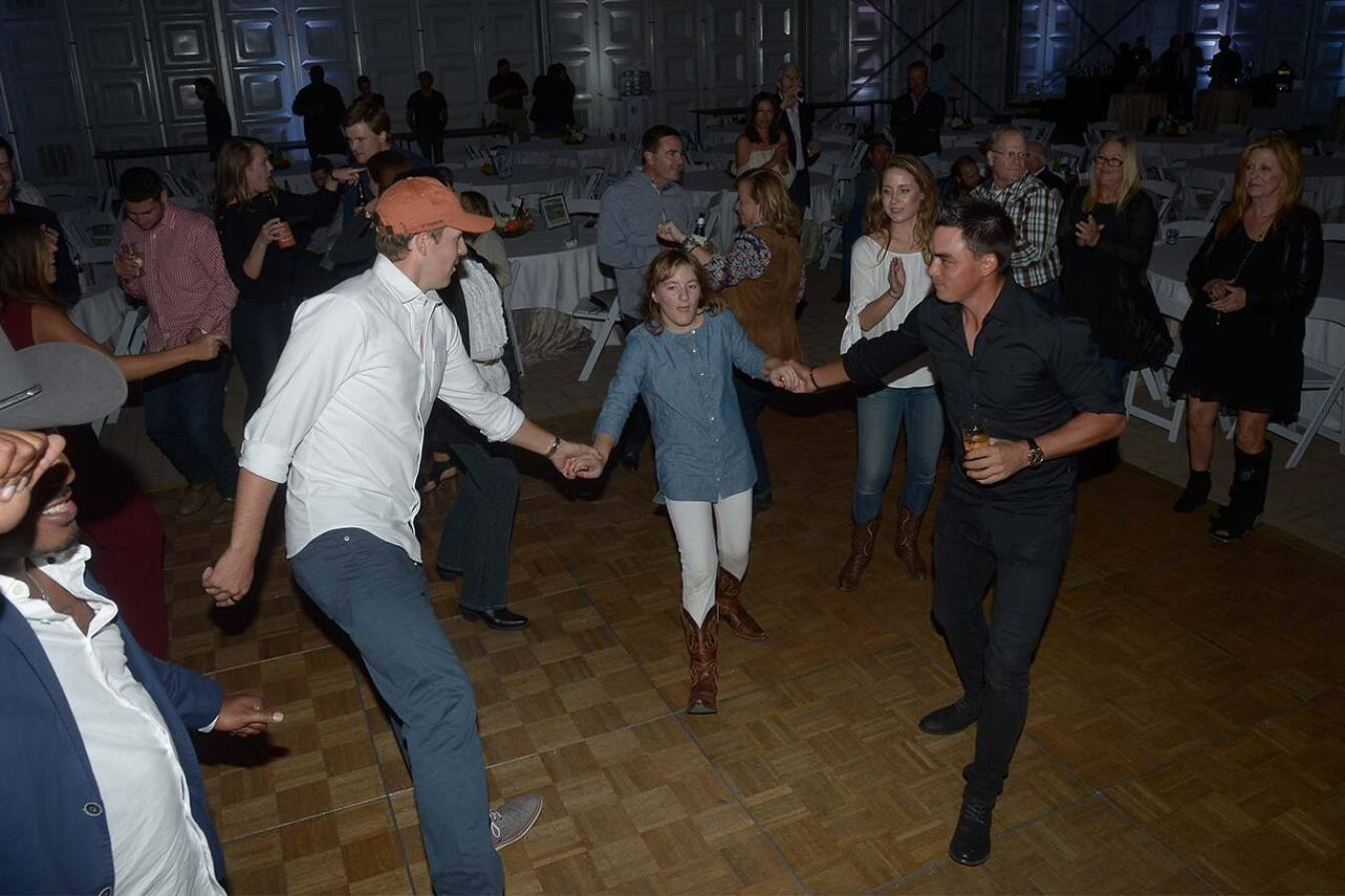 Jordan and Rickie Do the Two-Step With Ellie - 2015 Spieth Shootout.jpg
