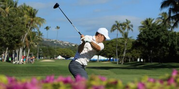 2018 Sony Open: Round 2 - Teeing Off on No. 10