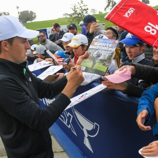 2020 Farmers Insurance Open: Round 1 - Autographs for Fans During Round 1