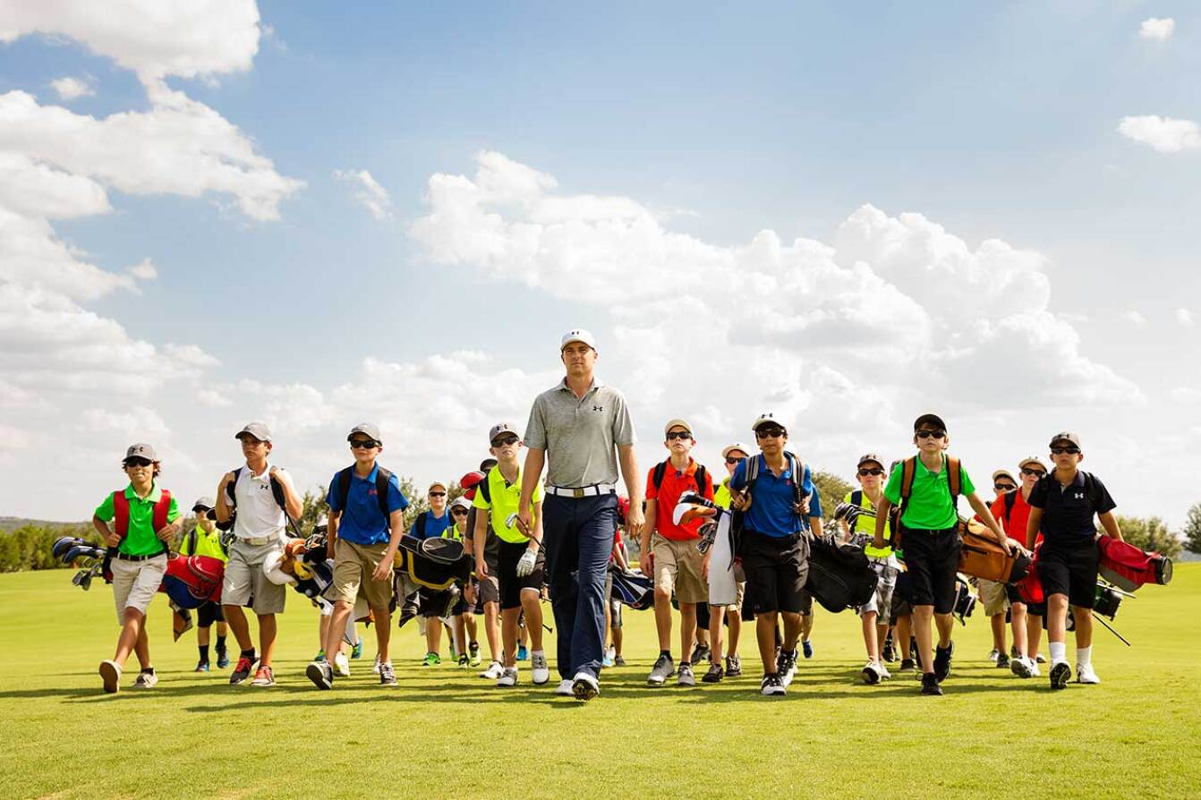 Jordan Leads Junior Golfers at the UA / Jordan Spieth Championship