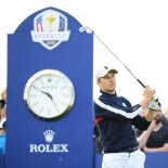 2018 Ryder Cup: Friday Afternoon Foursomes - Tee Shot to Kick Off the Afternoon Match