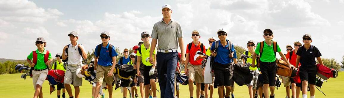 Jordan Leads Junior Golfers at the UA / Jordan Spieth Championship
