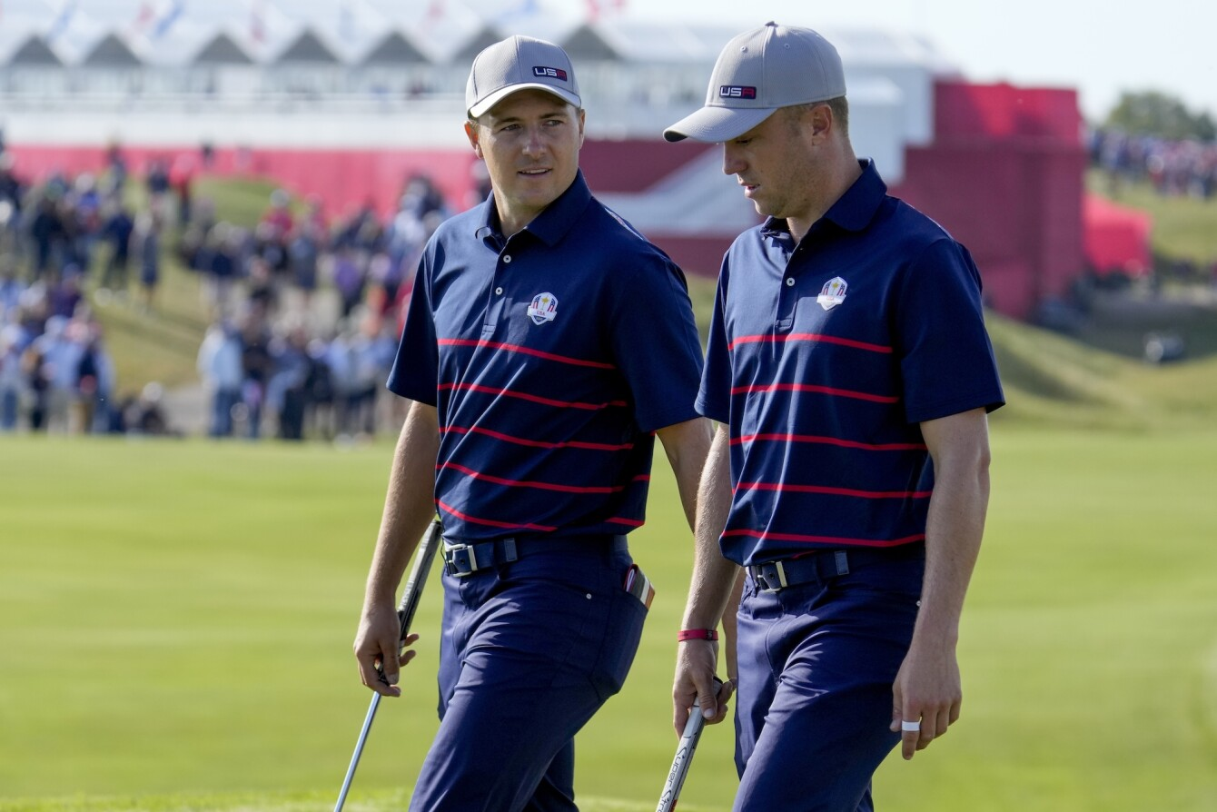 2021 Ryder Cup: Day 1 - Jordan and Justin on No. 11