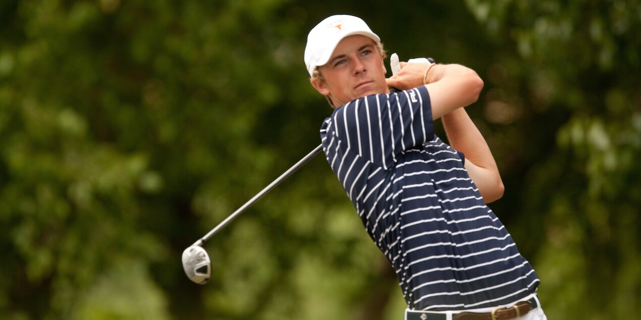 Jordan Spieth at the HP Byron Nelson
