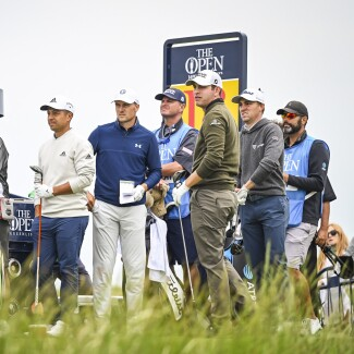 2021 Open Championship: Previews - Spieth, Schauffle, Cantlay and Thomas During Preview Round