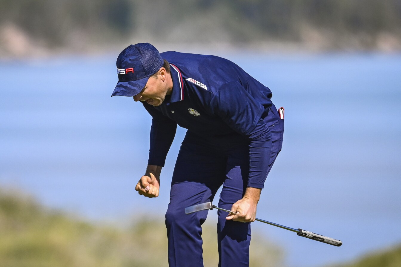 2021 Ryder Cup: Day 2 - Reaction to the Eagle on 6
