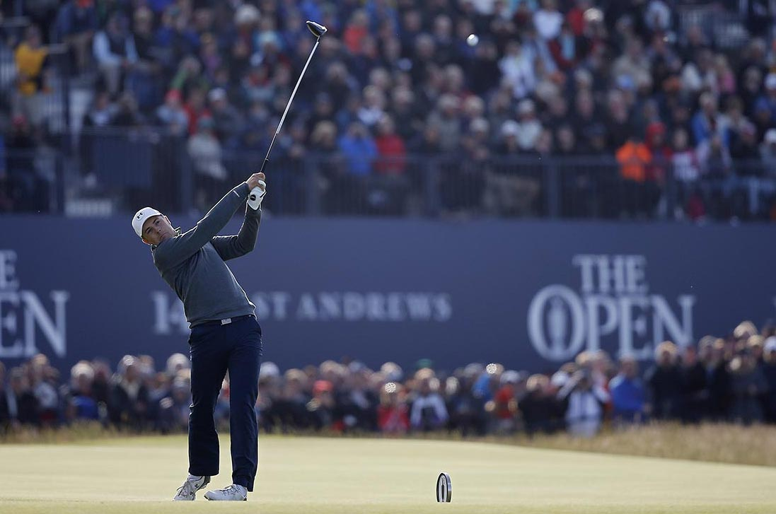 The 2015 Open Championship: Round 2