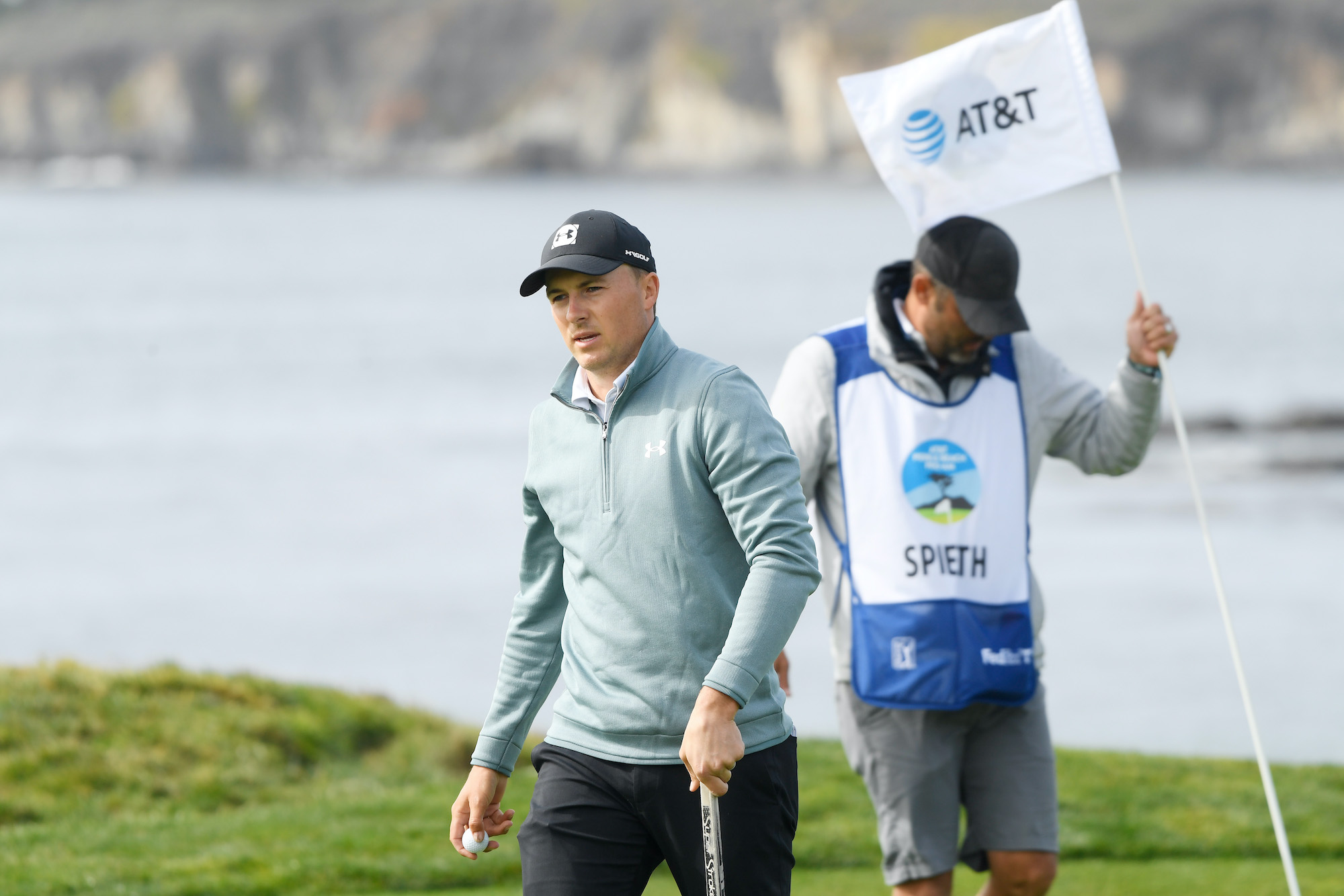 2021 AT&T Pebble Beach Pro-Am: Round 3 - Jordan Reacts to Birdie on the 4th