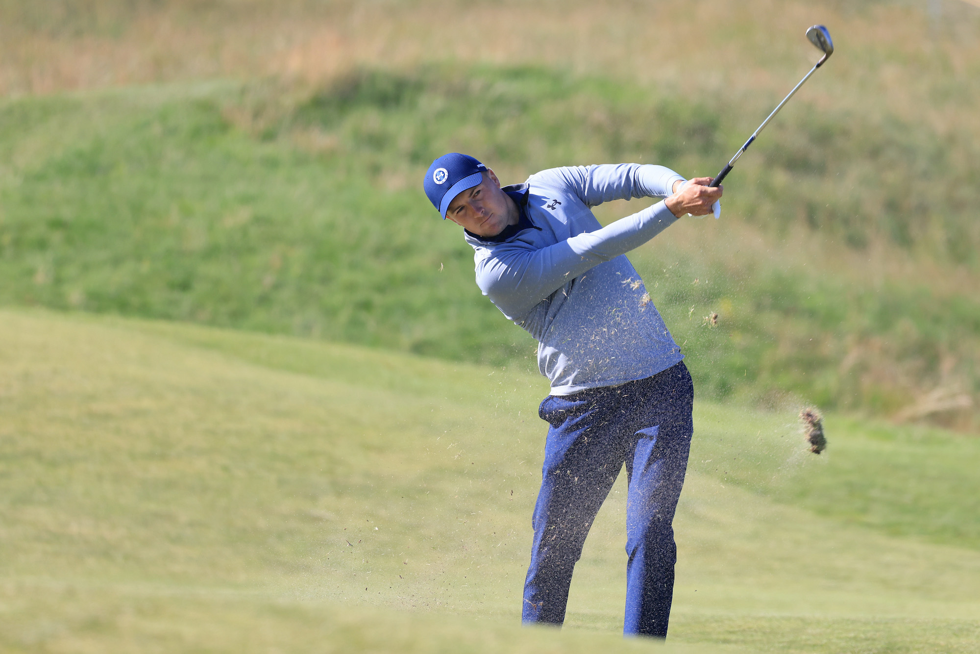 2021 Open Championship: Round 2 - Second Shot on No. 2